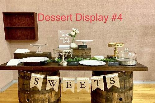 Dessert Display #4 Package Option