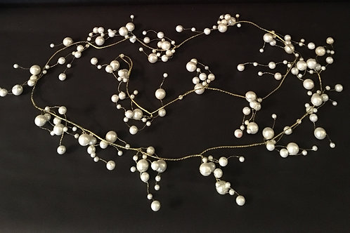 Gold/Pearl 6' Garlands