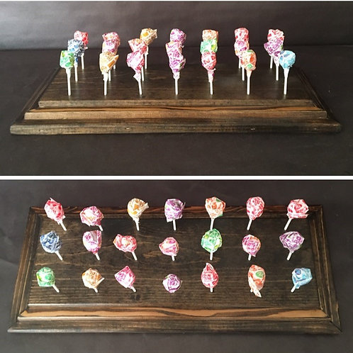 Cake Pop/Lollipop Holder Rustic