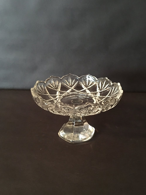 Crystal Candy Dish Stand
