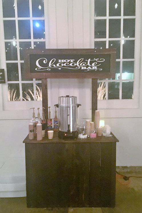 """Hot Chocolate Bar"" Station"
