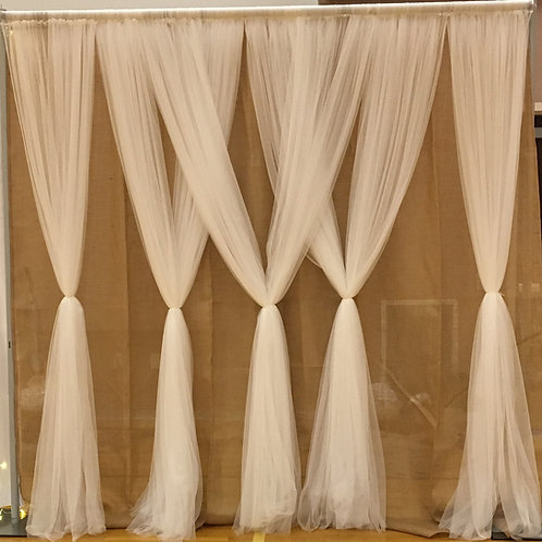 Netting Burlap Pipe & Drape
