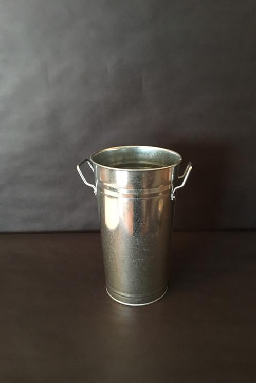 Large Tin Vase Whandles Partyonutahns