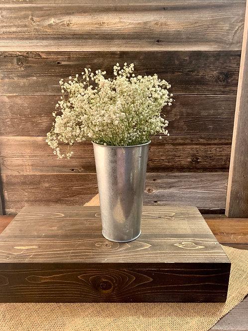 Tin Tall Vase