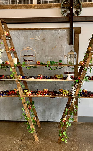 Dessert/Food Ladder Shelves
