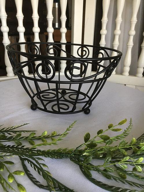 Scroll Serving Basket