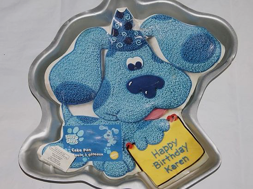 Blues Clues/Dog Cake Pan