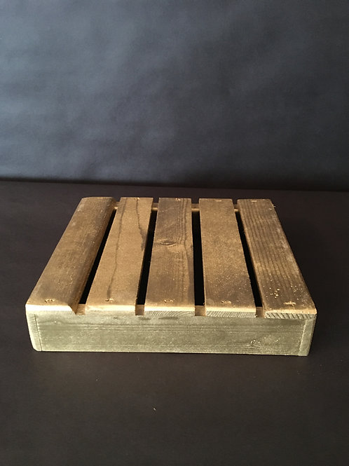 Gold Crate Centerpiece Base