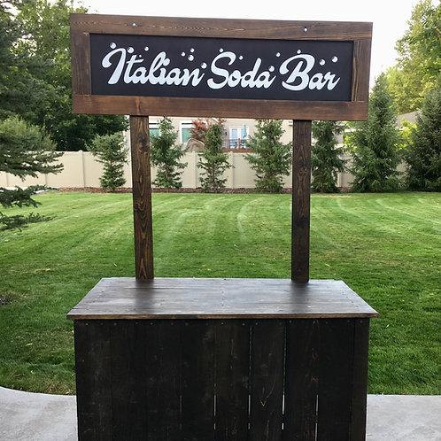 """Italian Soda Bar"" Lemonade Station"