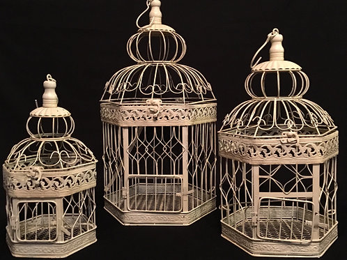 Bird Cage Set of 3