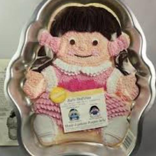 Baby Girl Cake Pan
