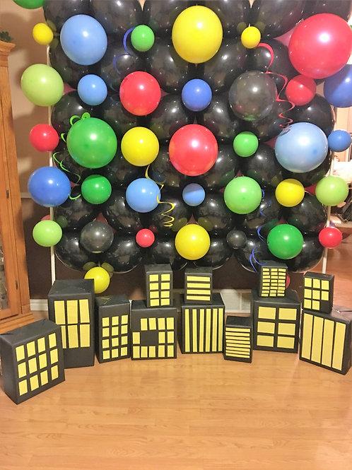 Custom Balloon Wall Backdrops for Parties