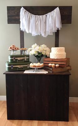 Vintage Dessert Stand