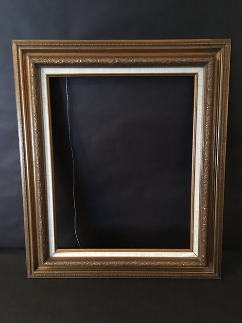 Gold Rectangle Photo Prop Frame