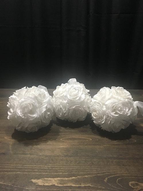 Flower Balls White