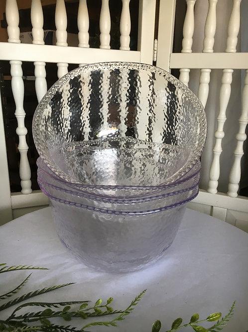 Heavy Plastic Serving Bowls