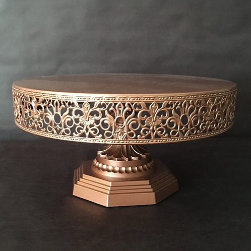 Rose Gold Cake Stand
