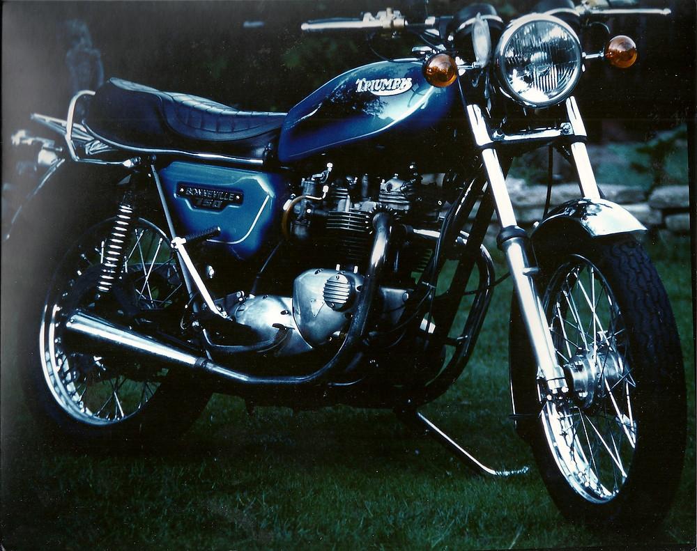 An original Triumph Bonneville