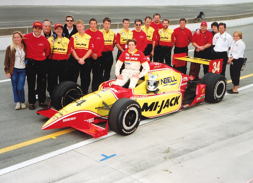 Indy 500 qualifying, with team Conquest