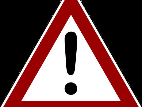 Advance warning - road closure