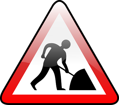 Roadworks - Laxfield Road
