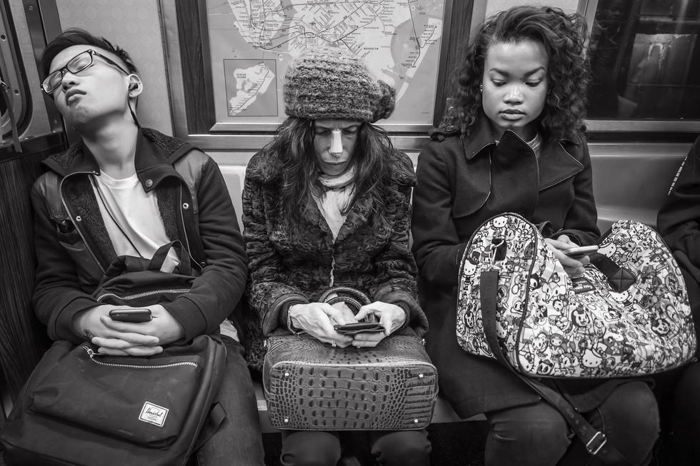 October 31, 2017. A-Train, New York City.