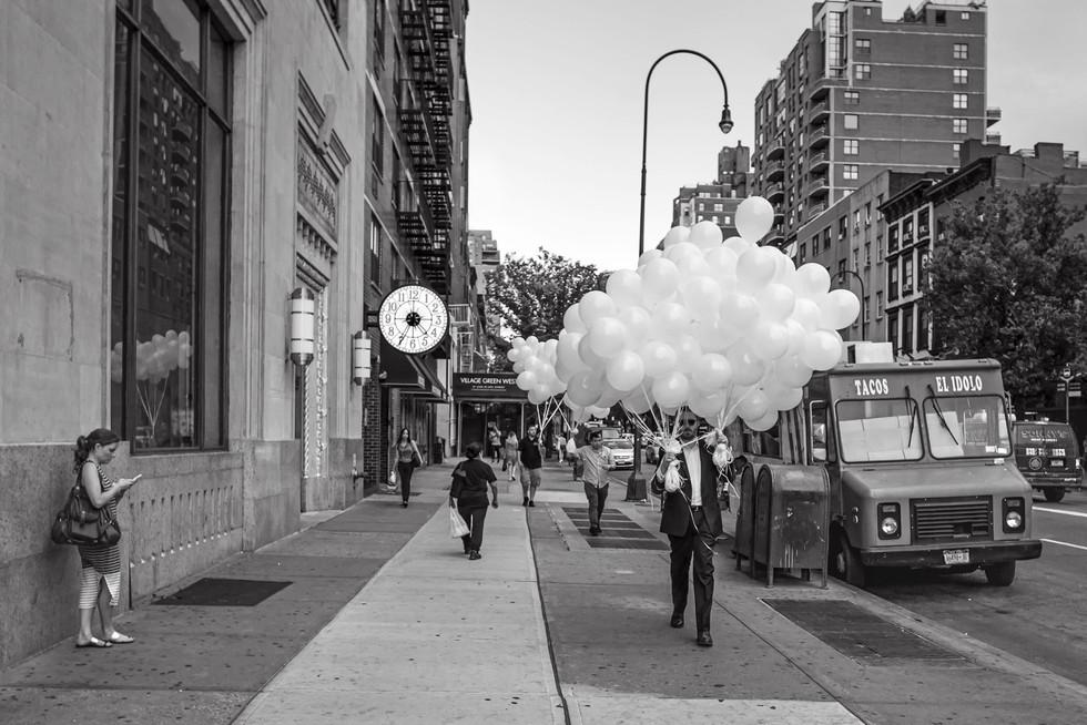 August 15, 2015. 8th Avenue & 14th Street, New York.