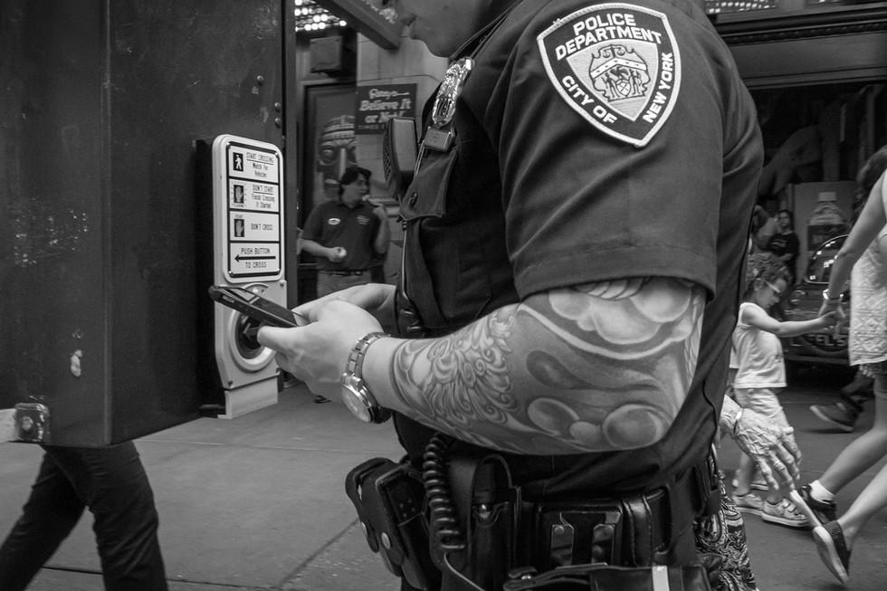 July 7, 2016. 42nd Street, New York.