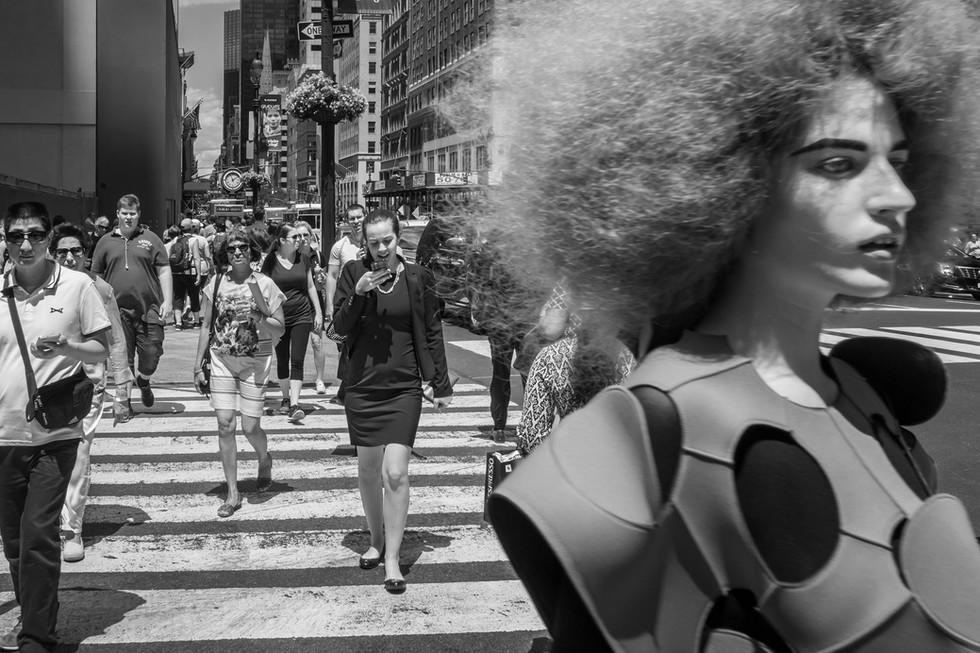 June 22, 2016. 5th Avenue & 43 Street, New York.
