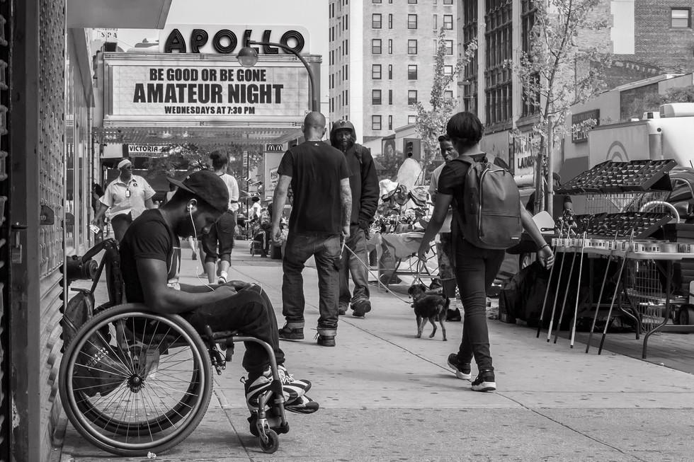June 11, 2015. 125th Street, Harlem. New York.