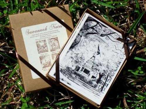 Oaks Boxed Stationary