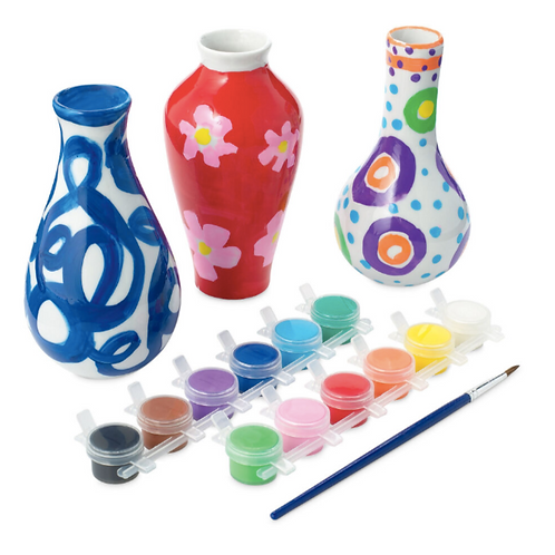 Paint Your Own Vase