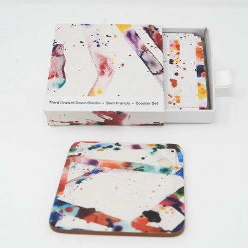 Sam Francis Coasters