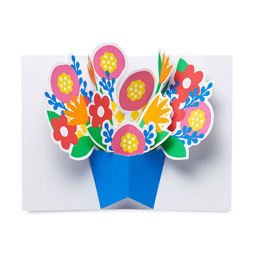 Bountiful Bouquet Pop-up note cards