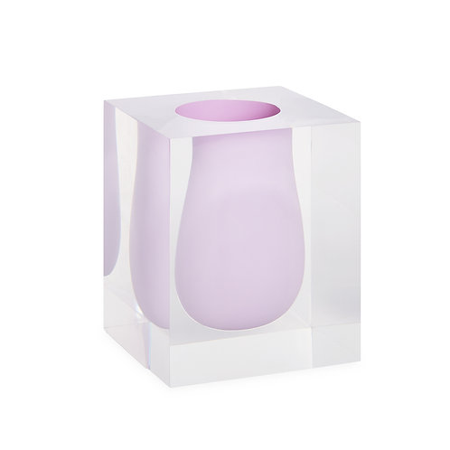 Bel Air Scoop Vase in Lilac