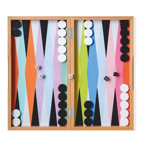 Colorful Backgammon