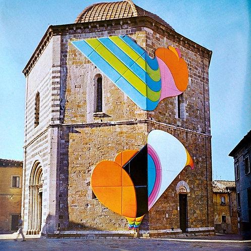 Volterra Original Vintage Photolithograph