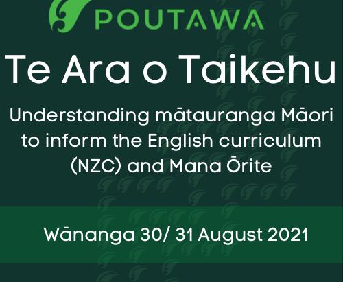 Wānanga: Understanding mātauranga Māori to inform the English curriculum (NZC) and Mana Ōrite