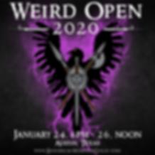 WEIRD Open 2020