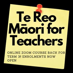 Te Reo Māori for Teachers course