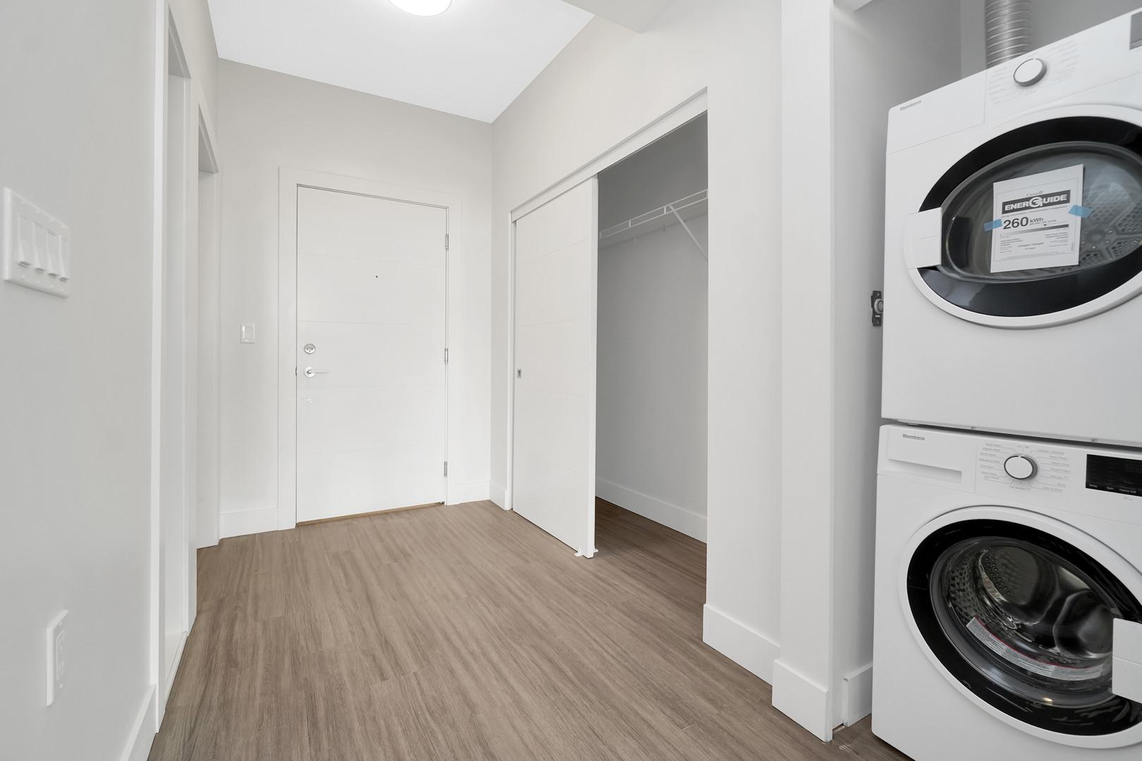 In-Suite Laundry