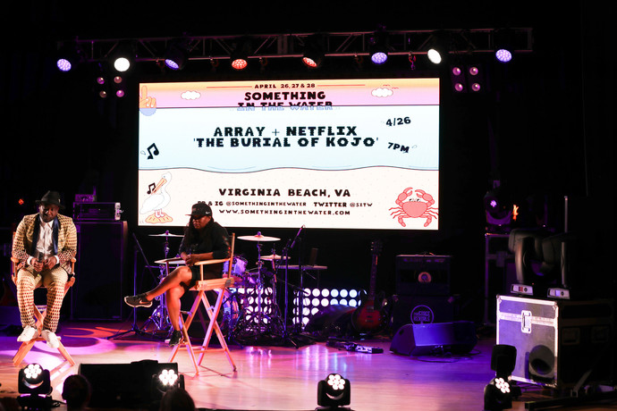 "Designing for Stars, Rain and the Ocean - ""Something In The Water"", Musical Festival, Virginia Beach"