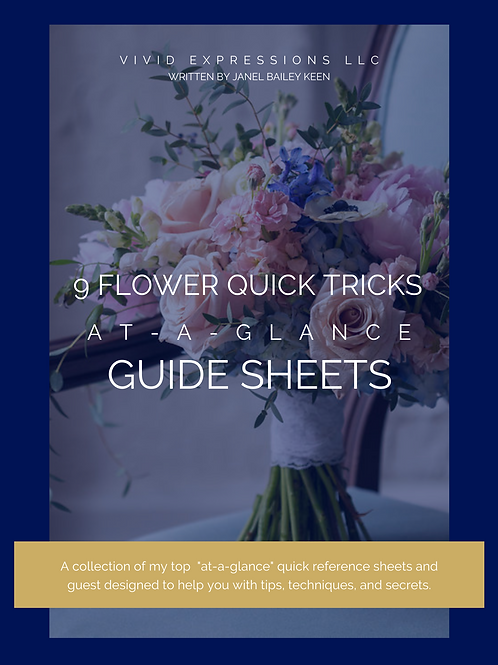 MEMBER - Floral Tricks At-A-Glance Guide
