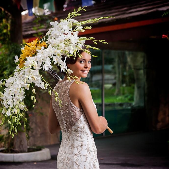 Wedding Trend Alert: Floral Accessories & Floral Wearables #WearMoreFlowers