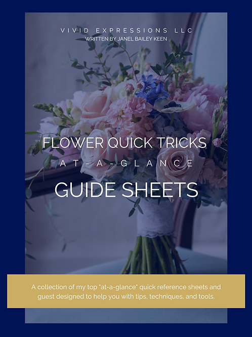 Floral Tricks At-A-Glance Guide