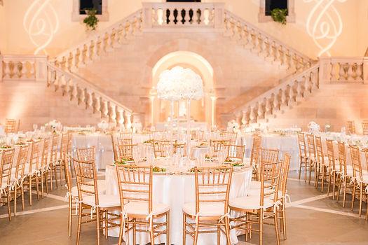 Dion and Kandice Wedding- Reception Deta