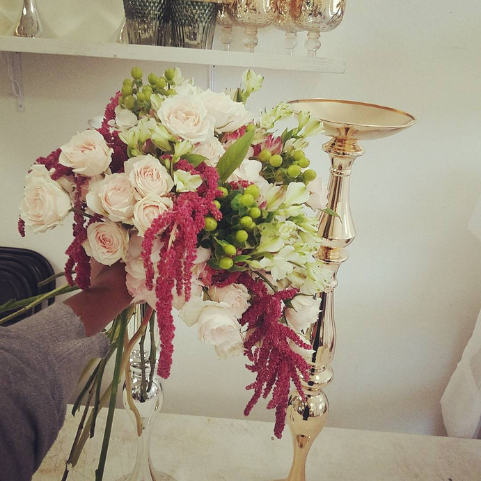 In the studio: Vintage Pink & Me