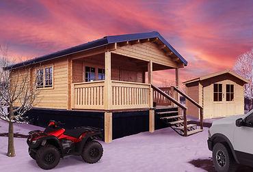 Louisville Prefab Log Cabin Kit
