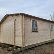 Garage A Prefab Log Structure Kit