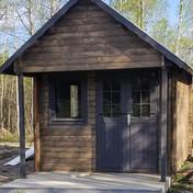 Bunkie Prefab Log Structure Kit